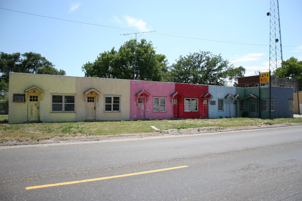 Lazy U Motel, Broadwater, Nebraska
