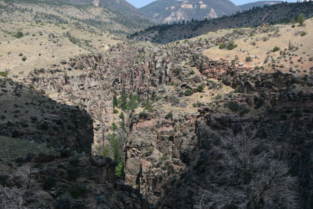 Granite Creek Canyon, Bighorn National Forest, Wyoming