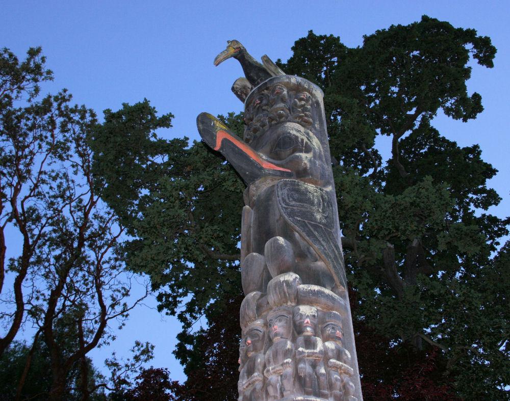 Gitxsan Totem, Thunderbird Park, Victoria, BC