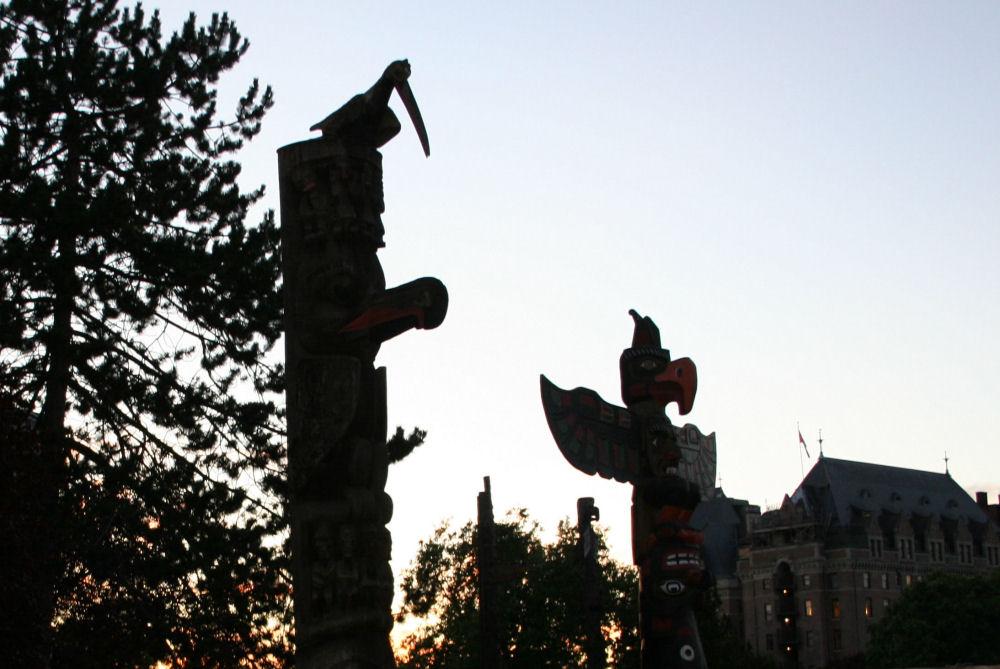 Thunderbird Park, Victoria, BC