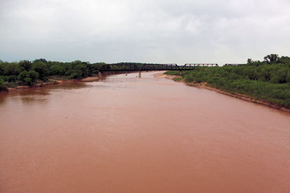 The Red River, Oklahoma