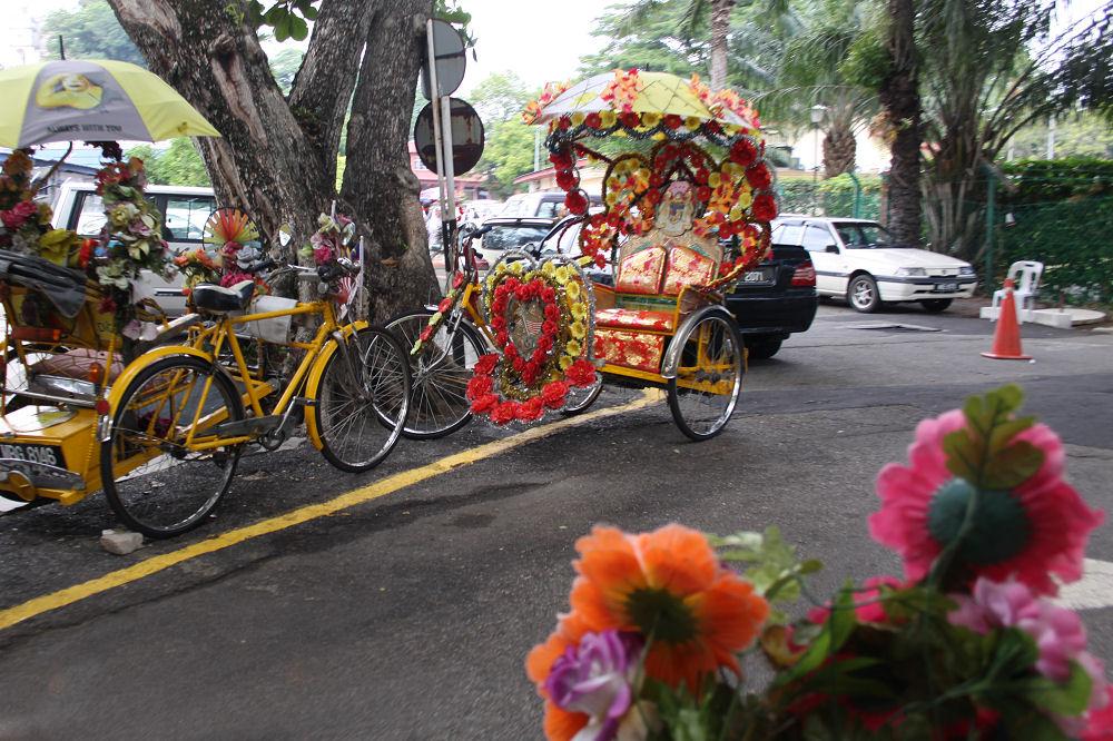 Bike taxi, Malacca, Malaysia