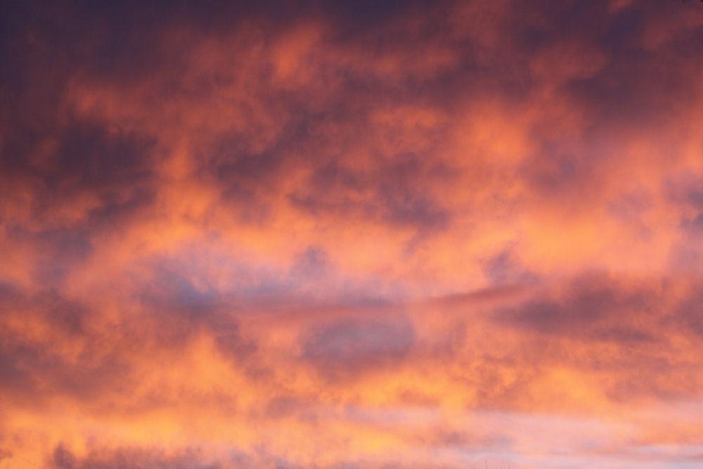 November sunset, Lewisville, Texas