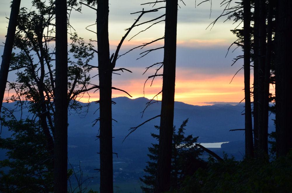 Sunset at Bald Peak, OR