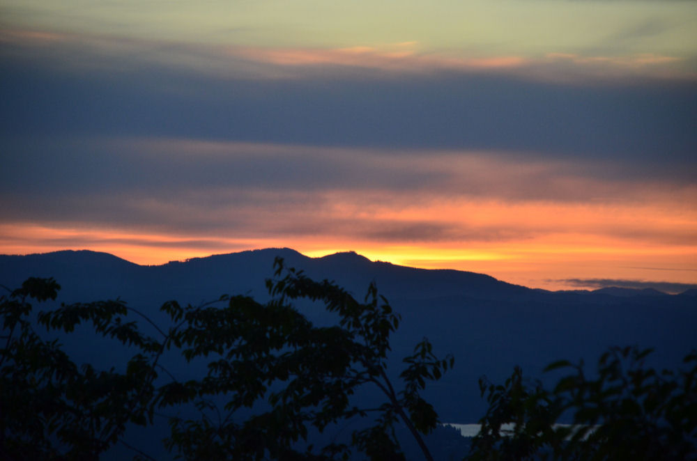 Sunset at Bald Peak, Oregon