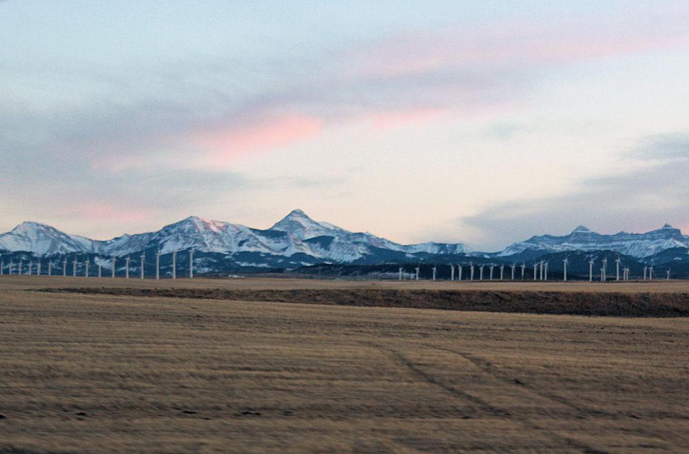 South Calgary Wind Power, Alberta Canada