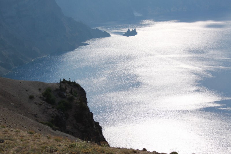 The Phantom Ship, Crater Lake, OR, USA