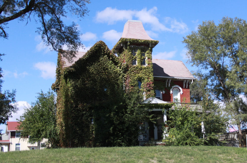 Historic home, Brooklyn, Iowa