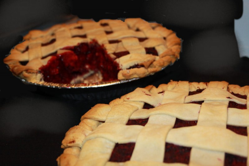Boysenberry Marion Berry pies