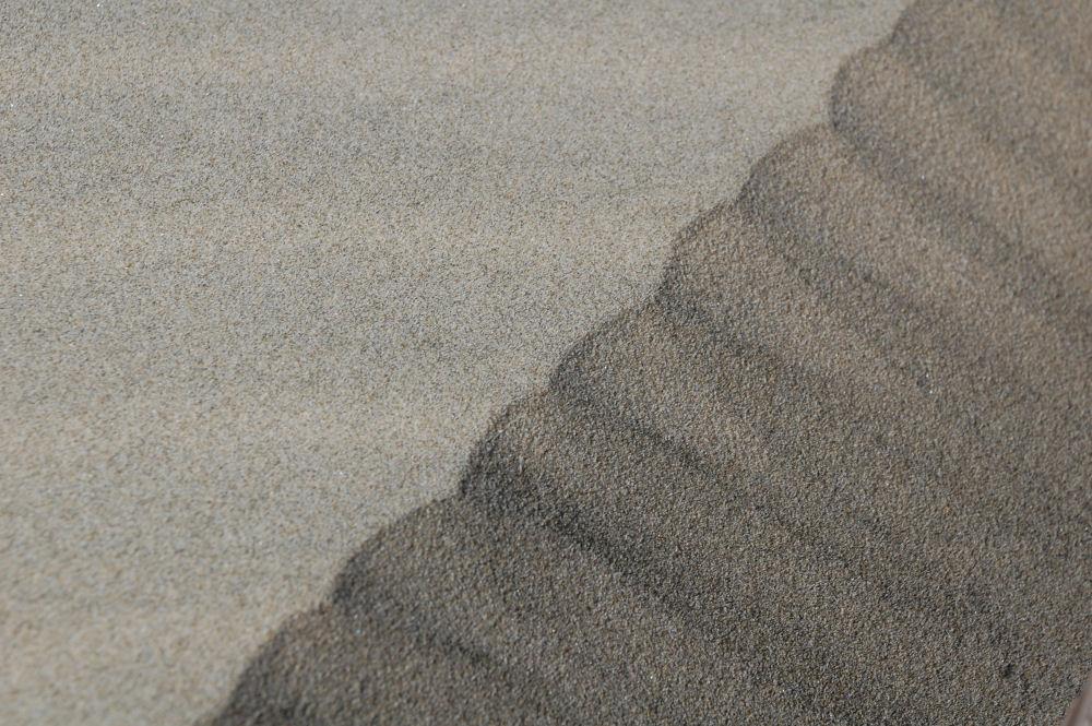 Natural design, wind-blown sand, Oceanside, Oregon