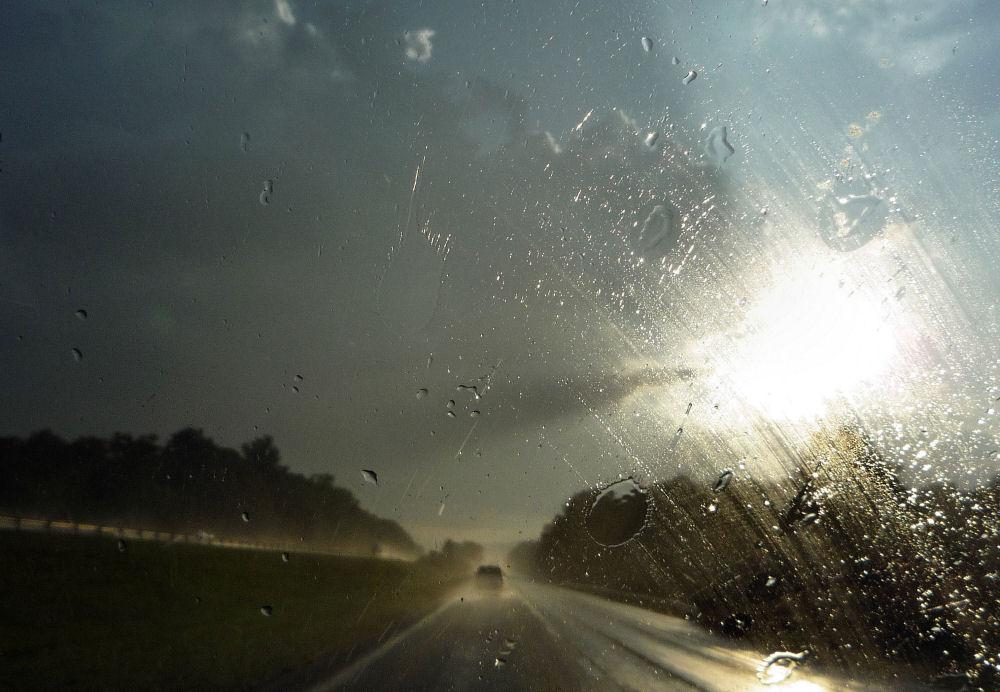 Storm at sunset, Roanoke, Virginia