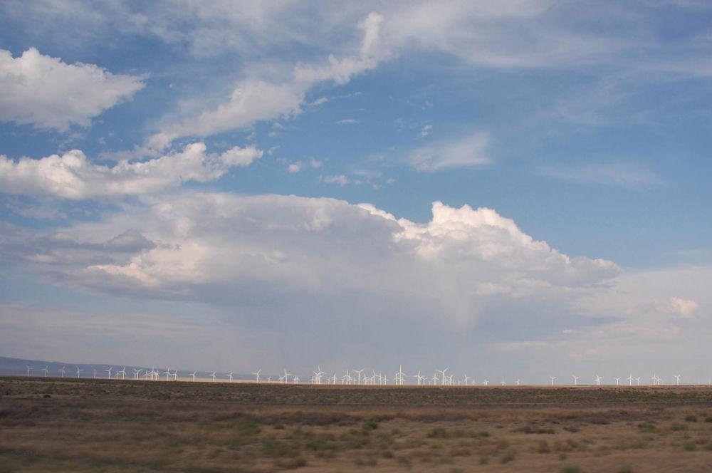 Shepherd's Flat Wind Farm near Arlington, OR