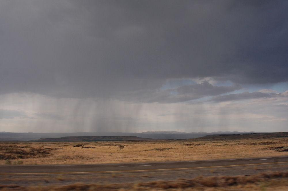 Storm near Echo, OR on the Oregon Trail