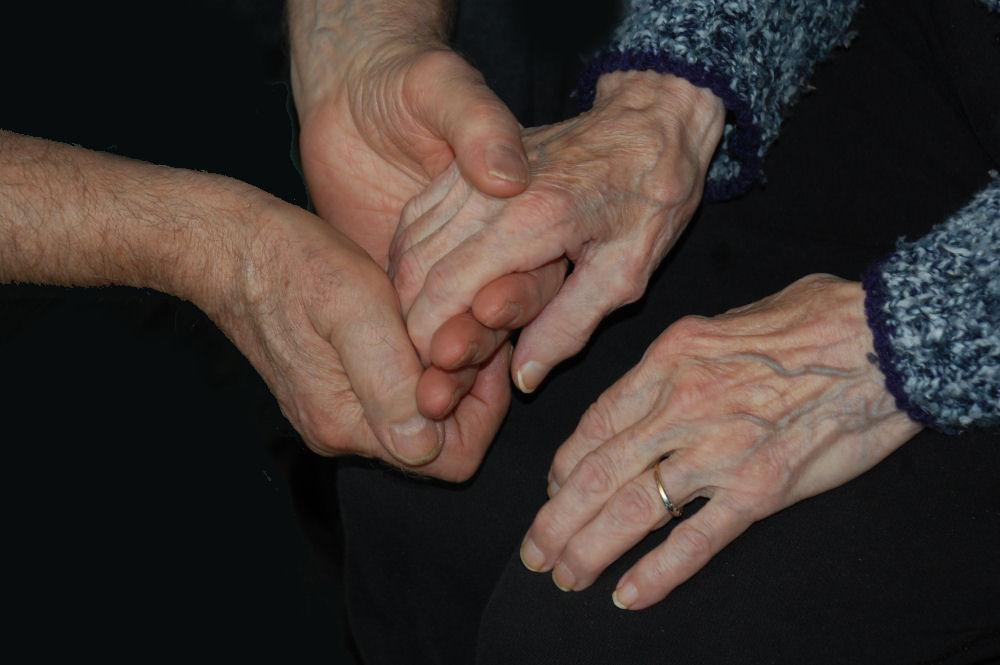 My parents' hands. Mom has Alzheimer's.
