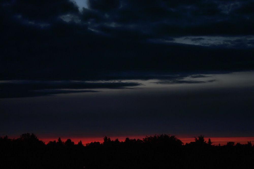 11 p.m. Edmonton, Alberta