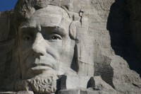 Mount Rushmore, SD, Lincoln