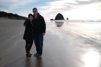 Adrian and Lyanna, Cannon Beach OR