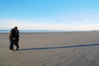 Adrian and Lyanna, Seaside beach, OR