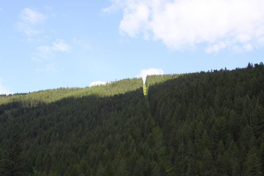 Idaho, USA-BC Canada border June 11, 2011