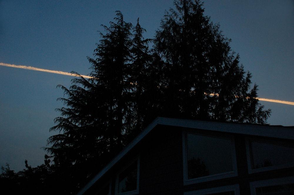 Surreal evening sky, Hillsboro, OR