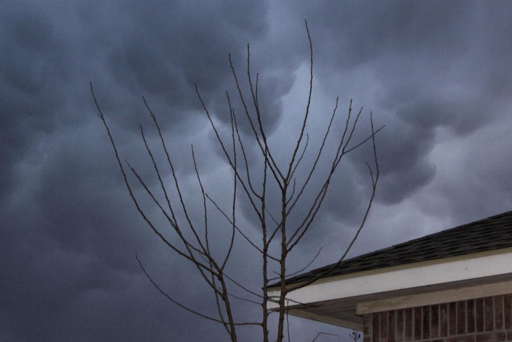 Mammatus clouds, Lewisville, TX