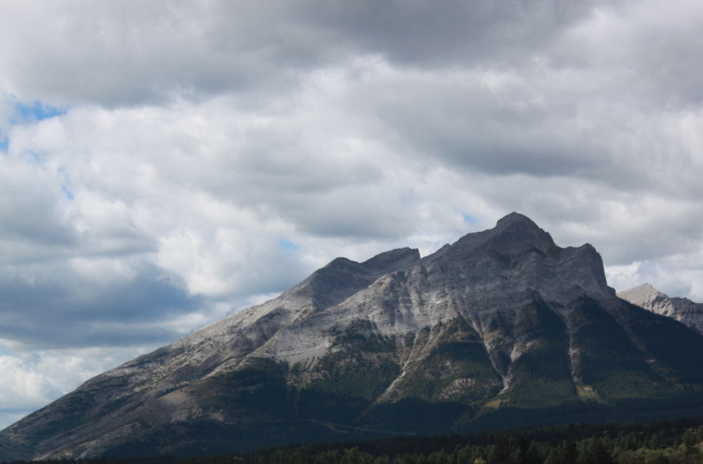Mt. Rundle, Rocky Mountains, Alberta