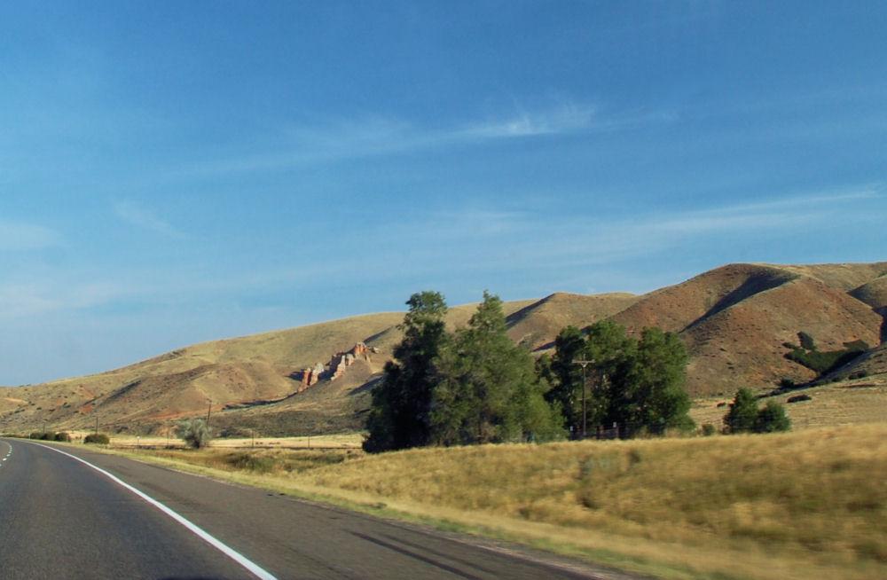 South Weber near Ogden, Utah, USA