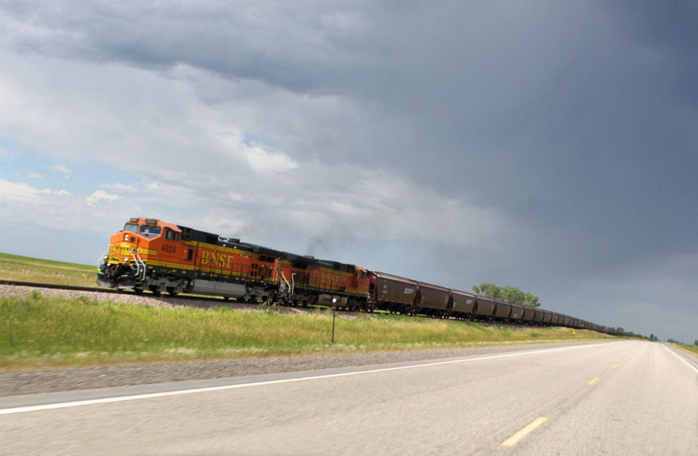 South Dakota Train