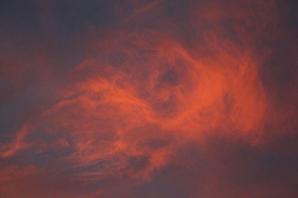 November sunset, Lewisville, TX