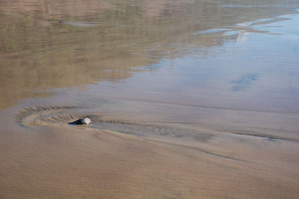 Low tide, Oceanside, OR beach