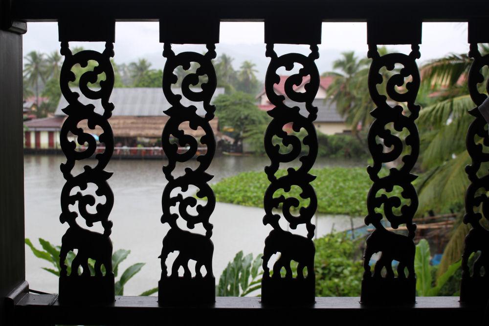Luang Prabang, Laos hotel balcony design