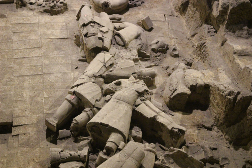 Terracotta Warriors unearthed, Xi'an, China