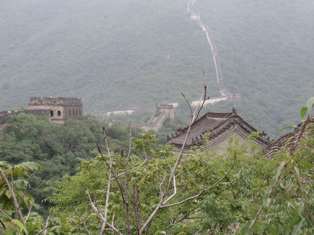 The Great Wall near Bejing, China