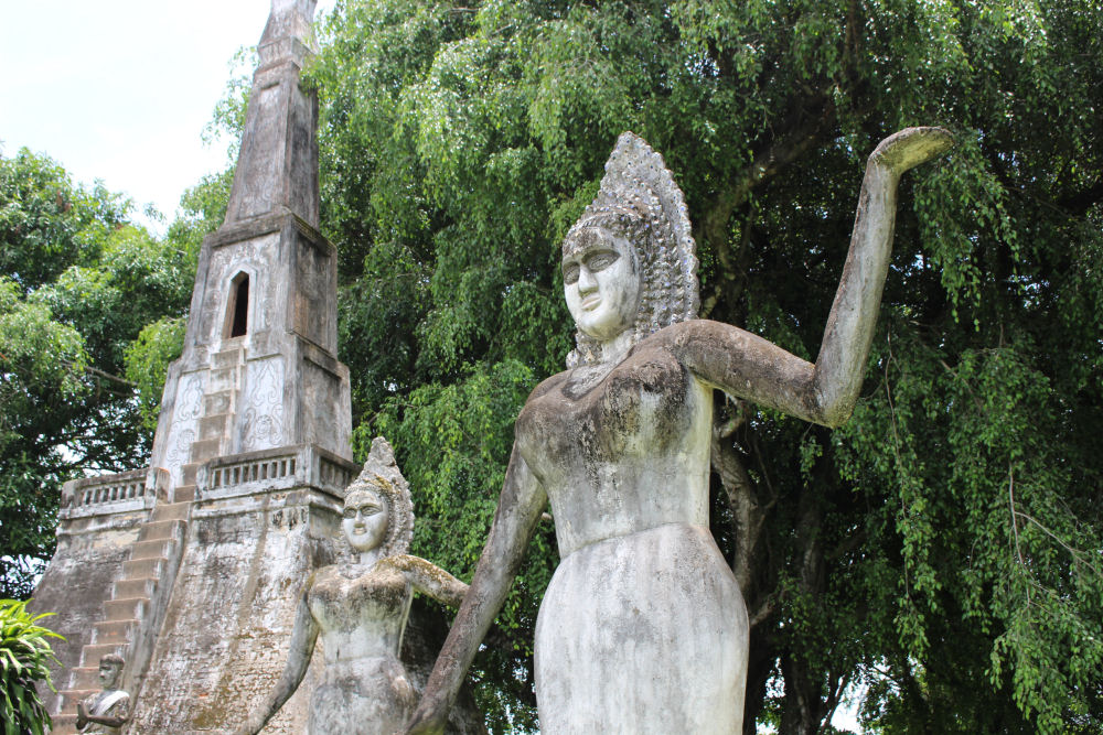 "Buddha Park, Vientiane, Laos, also known as Xieng Khuan, meaning ""Spirit City"""