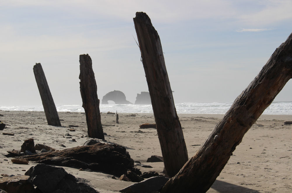 Twin Rocks, Rockaway Beach Oregon