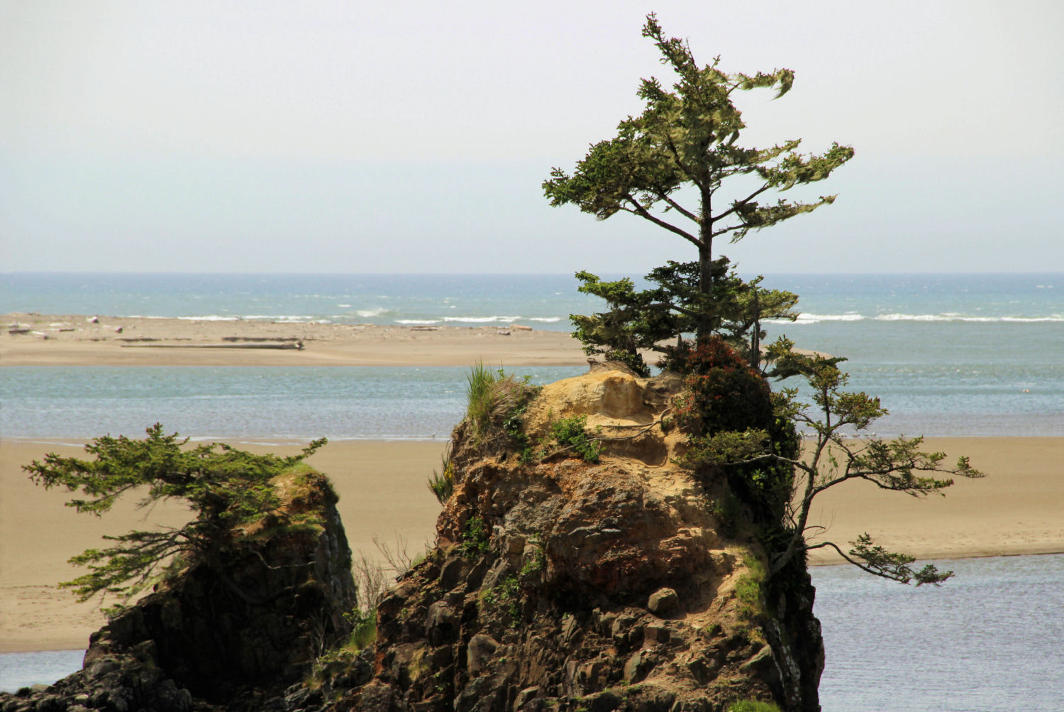Siletz Bay Park, Lincoln City, Oregon